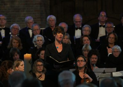 Bach cantate Pieterskerk Leiden 19-4-2015